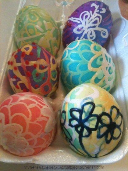 Batik Easter Eggs