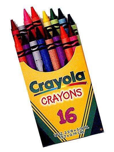 Crayola Crayons in a Box