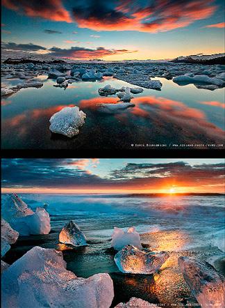 Iceland Volcano Glacier