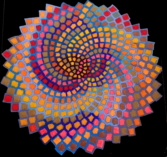 Fibonacci created the math Jeanne created the colors
