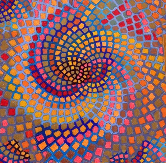 This is my color rendering of Fibonacci's math formula