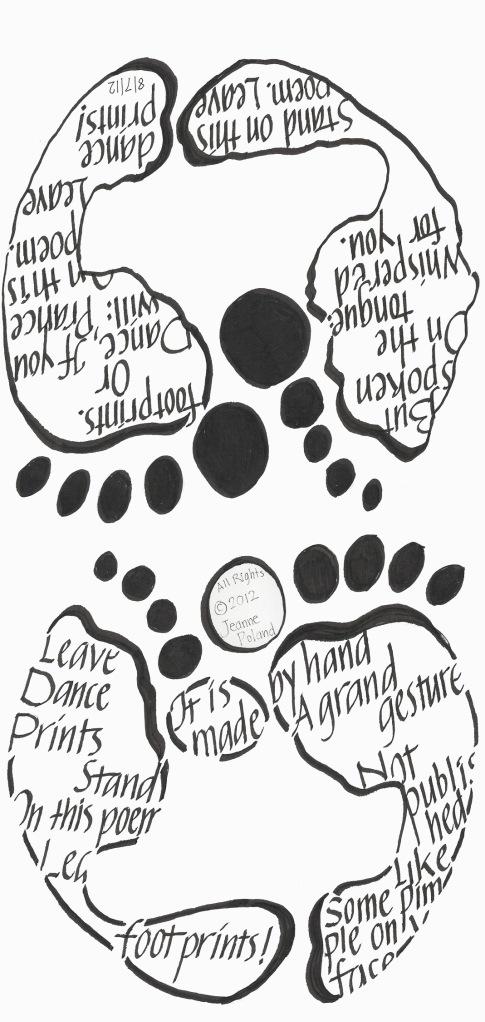Footprints I've left behind...