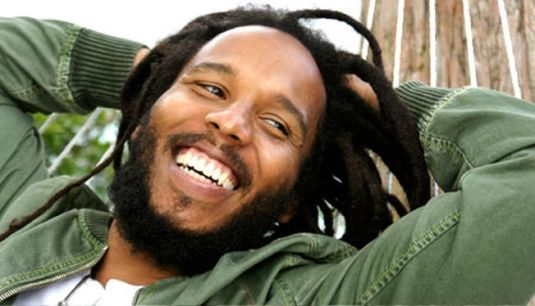 Ziggy Marley sings for Redemption