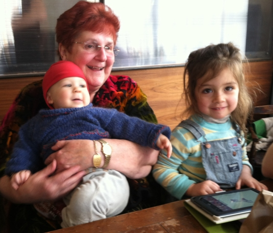 Grandma's Can't Keep Them on the Lap