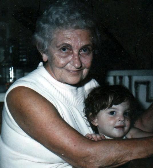 My Mom Marge Arthen DeLoca 40 years ago