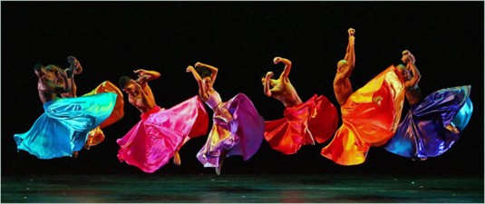 Alvin Ailey Dance Troupe Performs