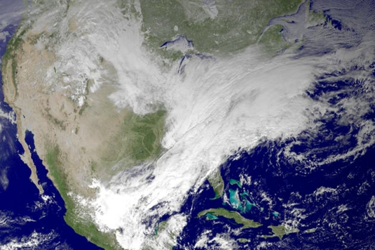 January 2014 Massive Winter Storm polar vortex