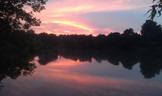 Photo by David Harrison Sunrise on Goose Lake