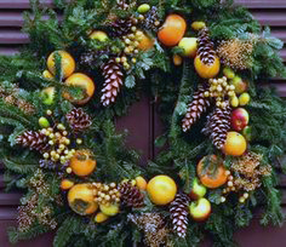 definition of fruit fruit wreath