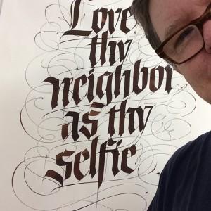 John Stevens' Gothic Selfie