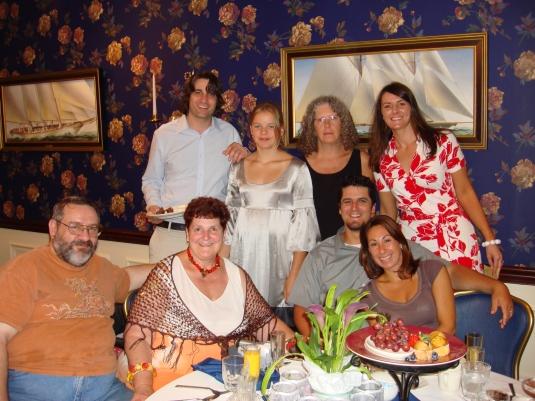 Michael, Aneli, Diane,Quenby, Don, Jeanne, Owen, Emily 2007