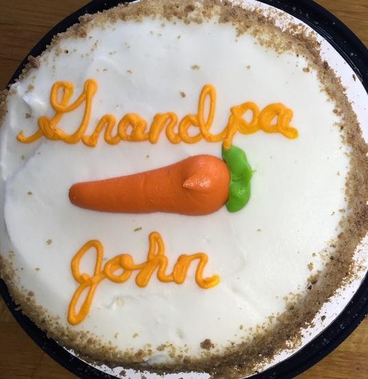 John's Carrot Cake