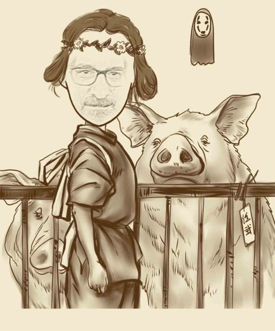 Michael, the Pig-Keeper