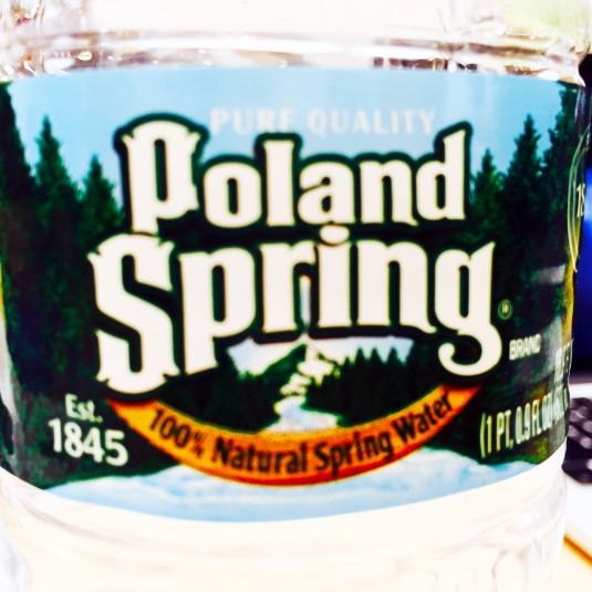 Macro Lens on Poland Spring