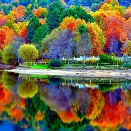 Autumn or imagination?