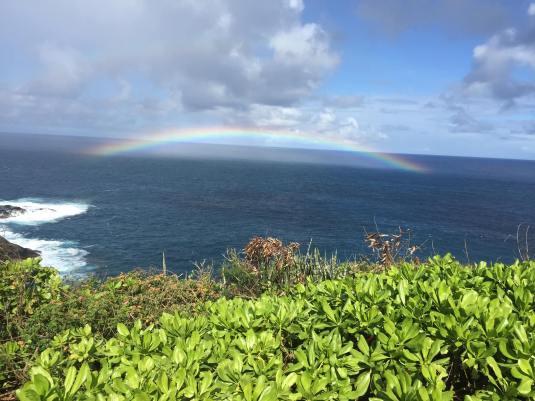 Rainbow atKilaueaLighthouse copy