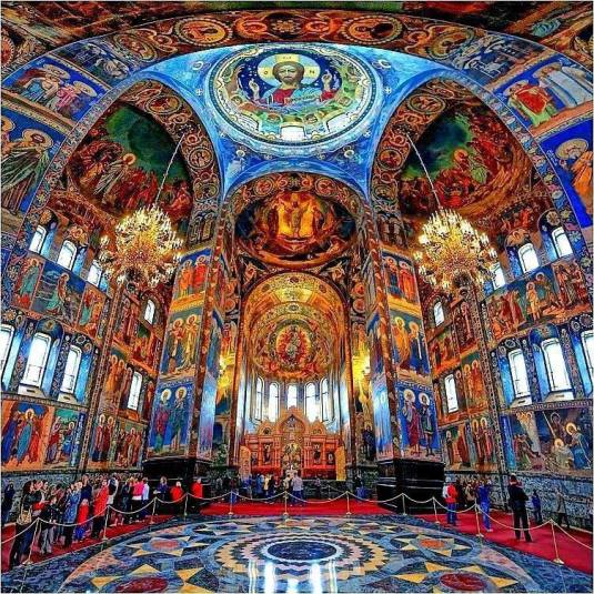 ChurchinStPetersbergRussia