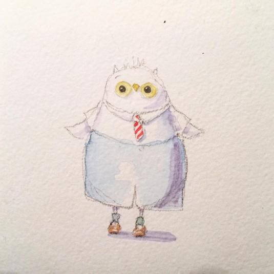Owl Bird Ankles