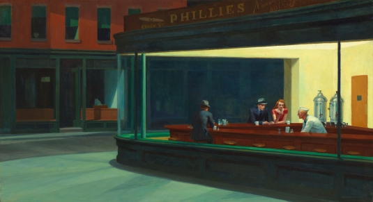 Nighthawks_by_Edward_Hopper_1942-1
