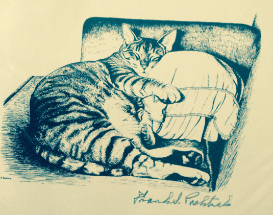 etching by Frank Packlick