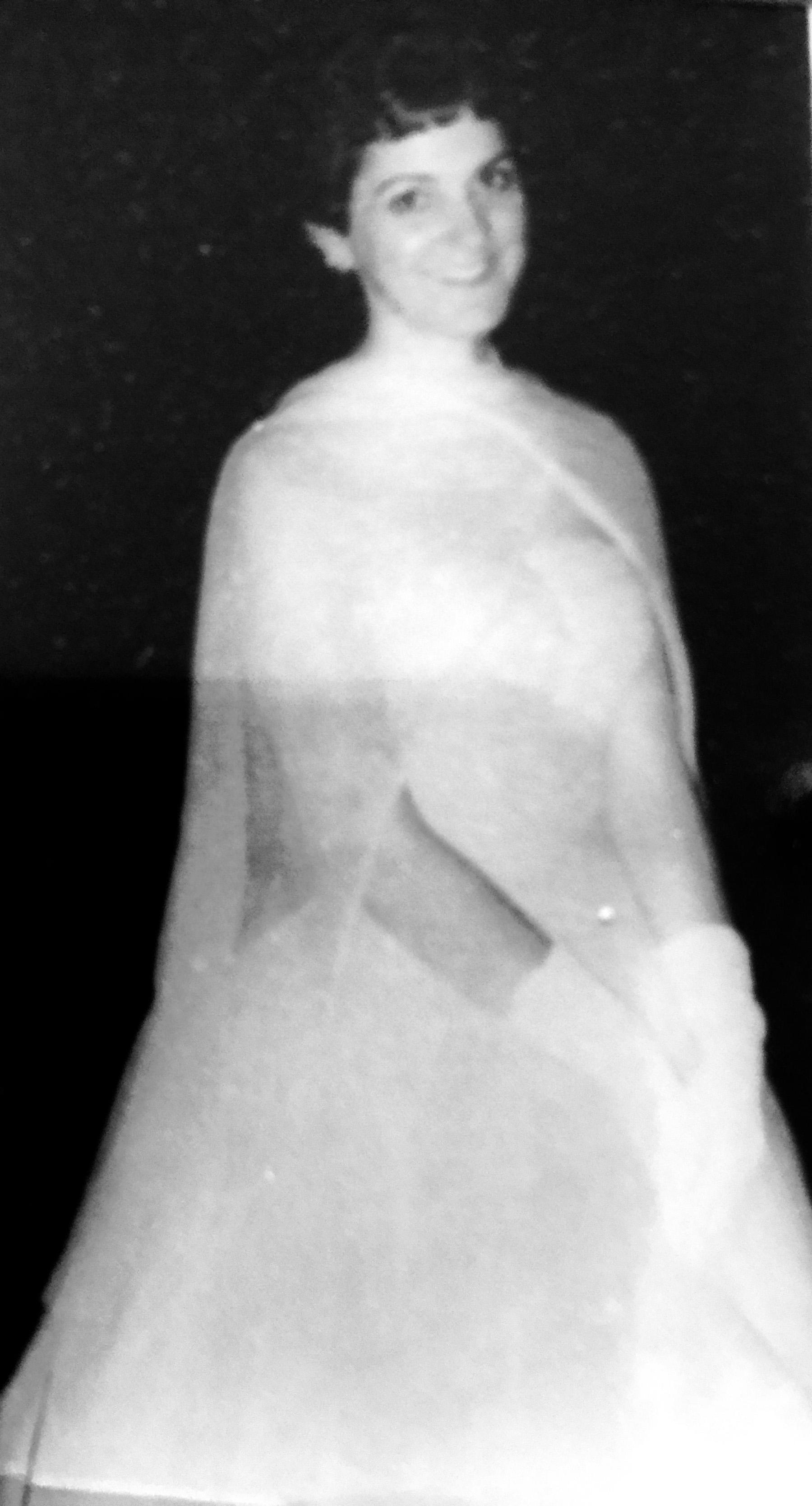 Jeanne in 1958