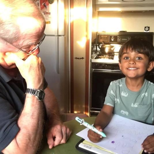 Kavi&Grandpa
