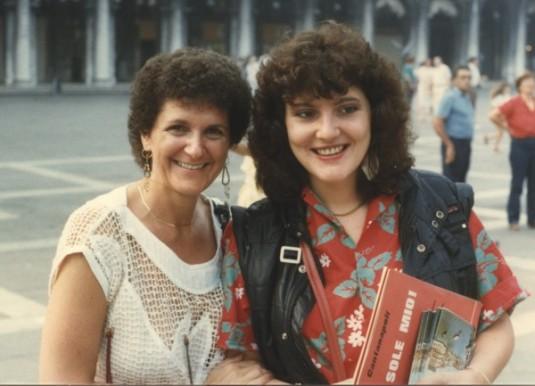 Jeanne Poland & Donatella Barzan-198409-001s